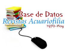 Base de datos revistas de acuariofilia
